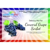 Rainbow's End Concord Grape Sorbet 4/1 Gallon