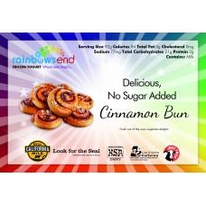 Rainbow's End Cinnamon Bun No Sugar Added Yogurt 4/1 Gallon