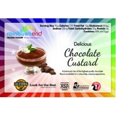 Rainbow's End Chocolate Custard 10% Butterfat 4/1 Gallon