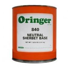 Base Orange Sherbet Po 12/2.75 Lb 12-ct