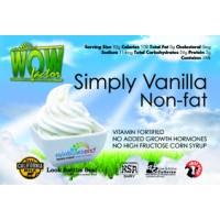 Rainbow's End Non Fat Simply Vanilla Wow Factor Yogurt 6-64 ounce