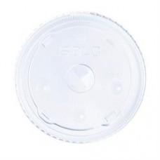 44 Oz Flat Lid W/Hole Dart 642ats-0090 600/Ct