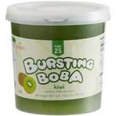 KIWI JUICE POPPING BOBA 4/7.5 LB TUBS
