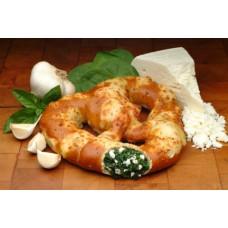 K&S Stuffed Spinach Feta Pretzel 24/Ct