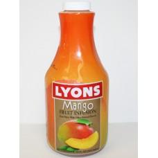 Lm Mango Fruit Infusion Bev Syrup 6/32oz
