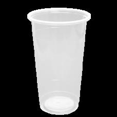 700cc 24oz Clear Pp Cups-Karat, U-Rim 1000/Cty