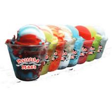 M Mikes Blue Coconut Italian Ice 3 Gal Tub