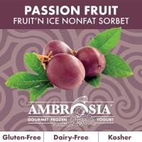 Fruit N Ice Passion Fruit Sorbet 6/64 Oz